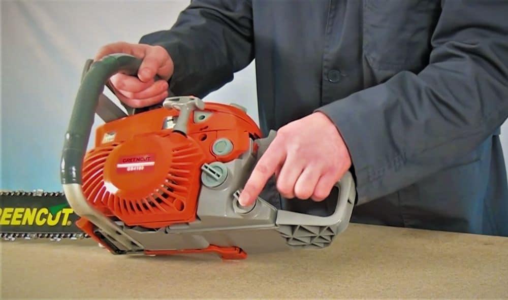 Guía de mantenimiento reparacion motosierra sierra con motor