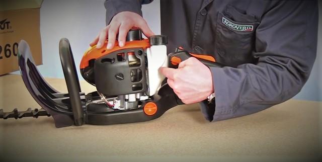 Mantenimiento del cortasetos Greencut - Depósito de combustible mezcla