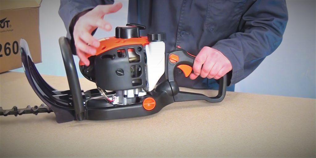 Mantenimiento del cortasetos Greencut - Mezcla de combustible