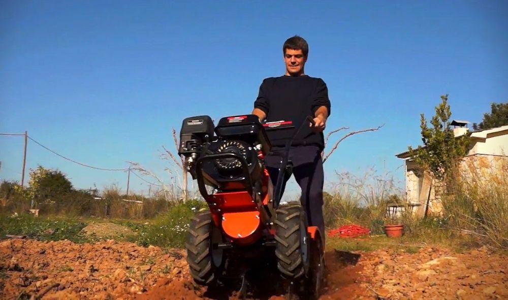 Guía de uso motocultor greencut