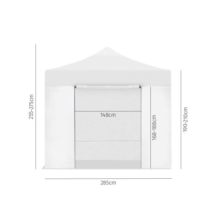 miniatura 14 - Carpa plegable 3x3 impermeable, carpas para exteriores, jardin o terraza
