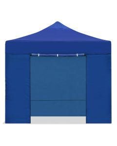 CARPLE-3X3 AZUL Carpa plegable 3x3 impermeable, cenador plegable, azul