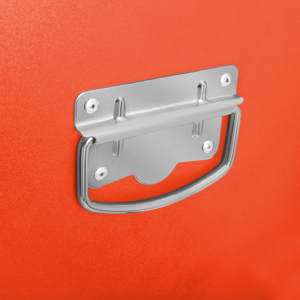 miniatura 26 - Carro para herramientas PRO armario acero 4 ruedas 10 cajones GREENCUT