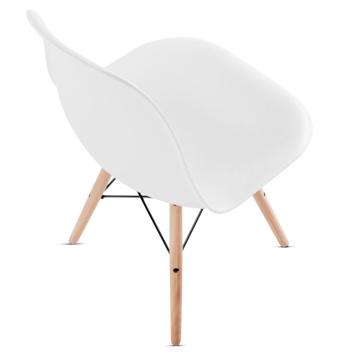 miniatura 9 - Pack 2 Sillas comedor Gris Blanco Mostaza Negro de diseño nordico – Mc Haus